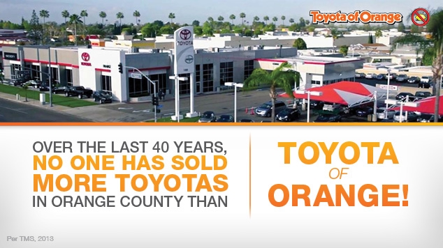 Toyota Orange Car and Truck Dealer in Orange