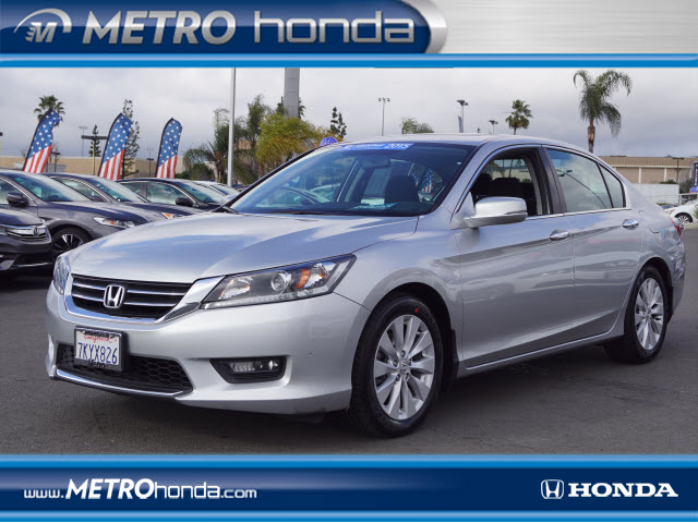 2015 HONDA ACCORD EX EX 4DR SEDAN CVT CERTIFED ONE OWNER METRO HONDA IS EXCITED TO OFFER THIS 2015