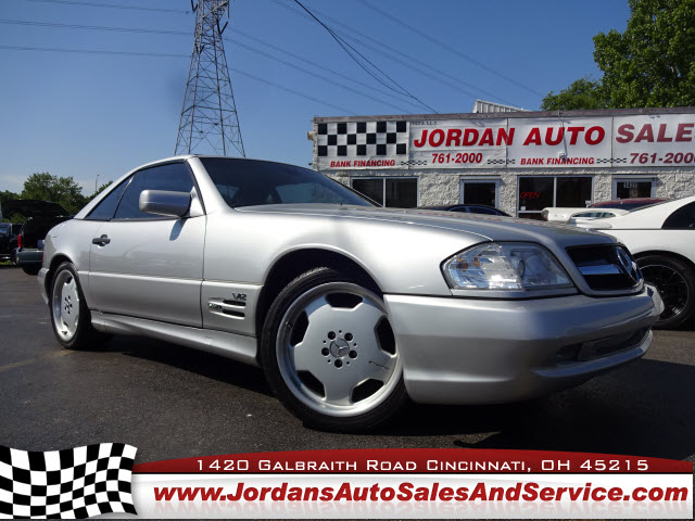 1998 Mercedes-Benz SL-Class SL600 SL1 Sport, WDBFA76F4WF160530, Stock Number: WF160530