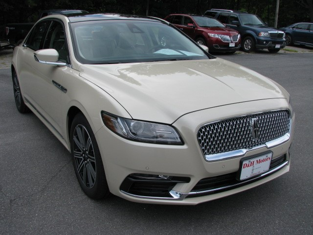 Your New 2018 Lincoln Continental For Sale In Gardiner Me