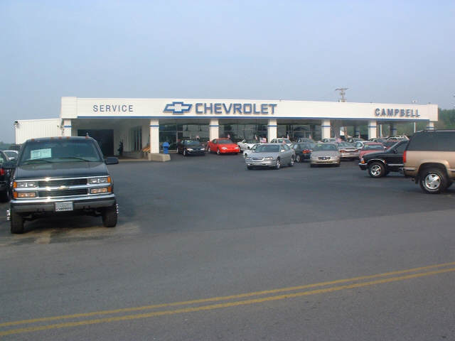Campbell Chevrolet Car and Truck Dealer in Bowling Green