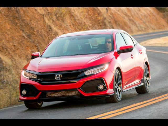 2018 Honda Civic LX–180130