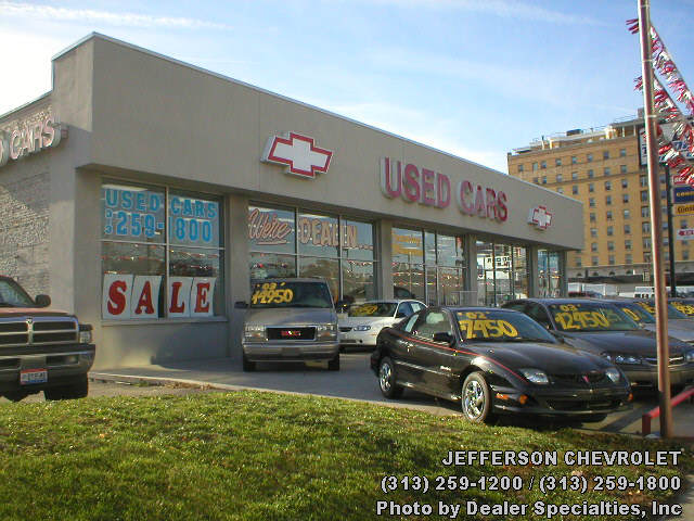 Jefferson Chevrolet Car And Truck Dealer In Detroit Michigan - Chevrolet dealers detroit