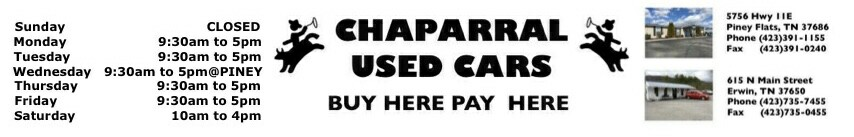 Chaparral Used Cars