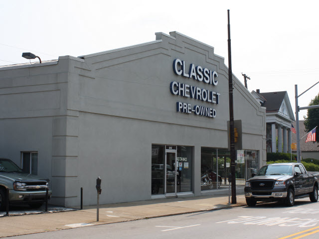 Classic Chevrolet Car And Truck Dealer In Bellevue Pennsylvania 873 Getauto Com