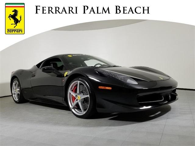Certified 2012 Ferrari 458 Italia Coupe For Sale Pf506a West