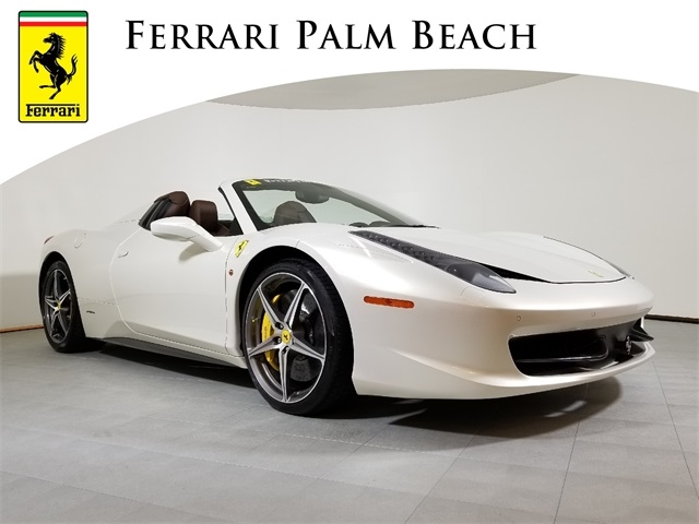 2012 Ferrari 458 Spider –PF500