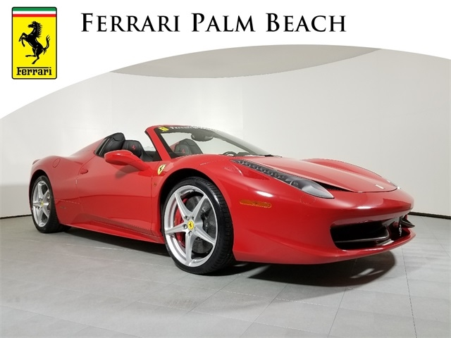 Certified 2013 Ferrari 458 Spider Convertible For Sale F711b