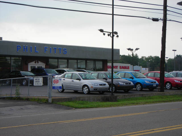 Phil Fitts Ford >> Phil Fitts Ford Car And Truck Dealer In New Castle Pennsylvania
