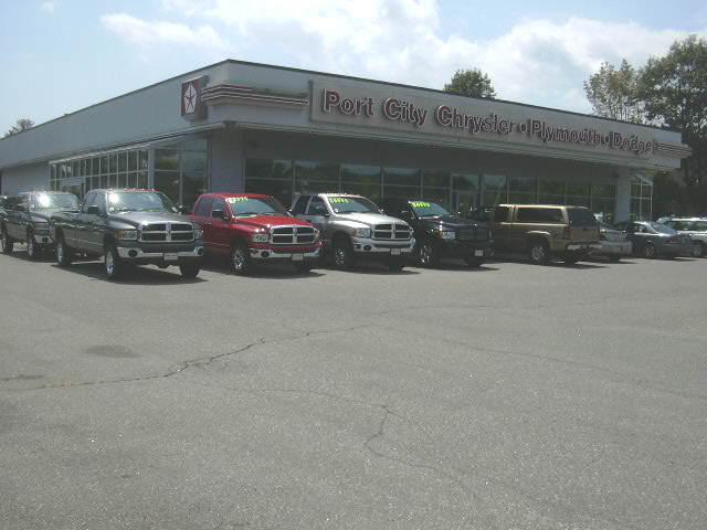Port City Dodge >> Port City Chrysler Dodge Car And Truck Dealer In