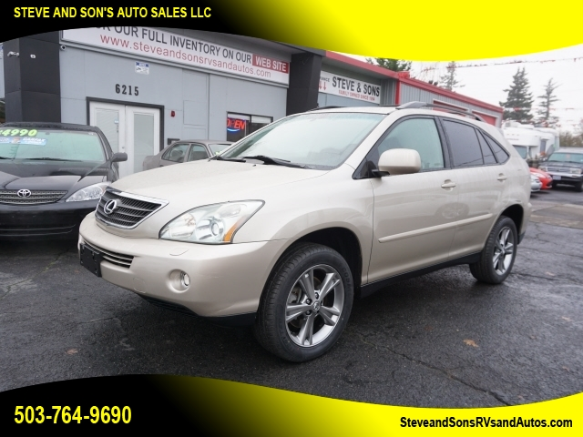 2006 Lexus RX 400h all-wheel-drive