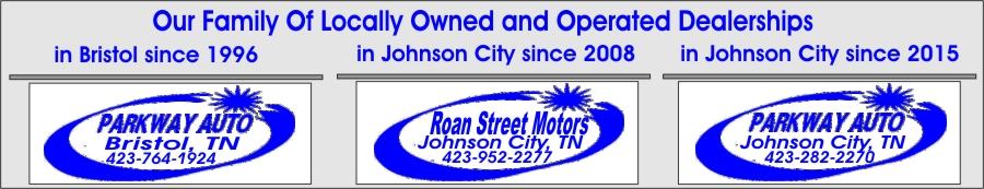 Parkway Auto Sales >> Parkway Family Of Dealerships Stone Drive Motors Roan Street
