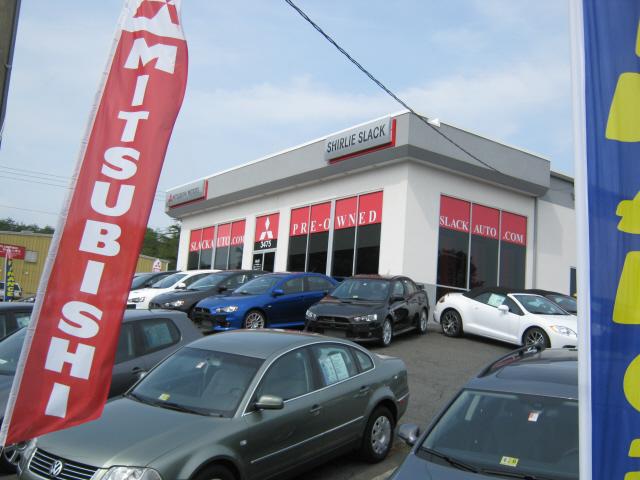 shirlie slack mitsubishi - car and truck dealer in fredericksburg