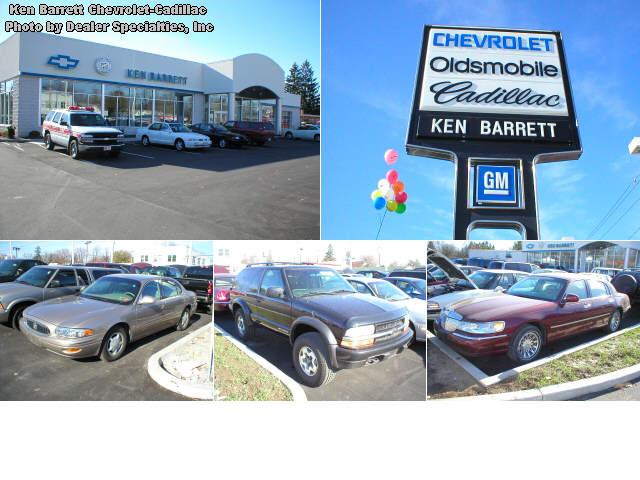 Ken Barrett ChevroletCadillac Car And Truck Dealer In Batavia - Cadillac dealers in new york