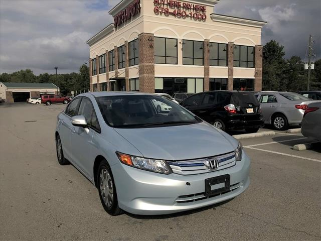 Used 2012 Honda Civic Hybrid Other For Sale Cs003133 Buford Ga