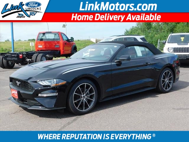 New Black 2018 Ford Mustang EcoBoost