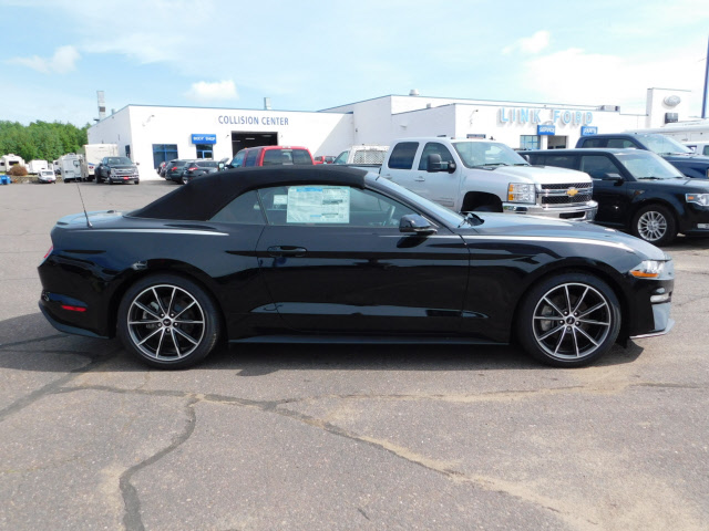 Black 2018 Ford Mustang EcoBoost