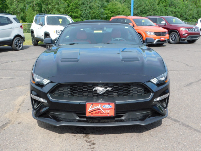 Link Ford Rice Lake >> This Black 2018 Ford Mustang EcoBoost is available at Link ...