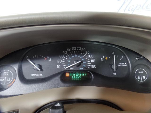 2002 buick century odometer light repair