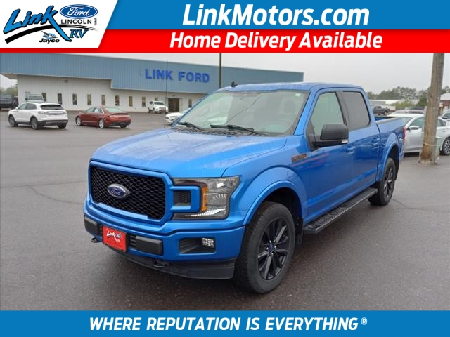 New Blue 2019 Ford F-150 XLT